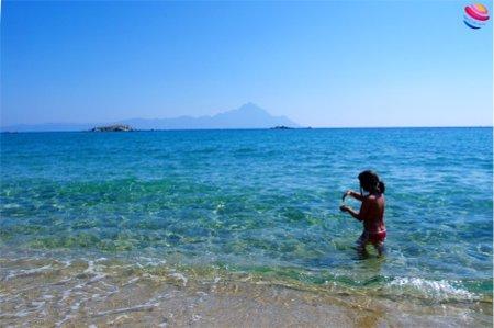 penisola calcidica panorma sul monte athos