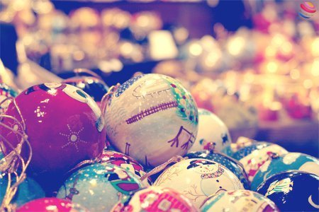 immacolata palline mercato di natale