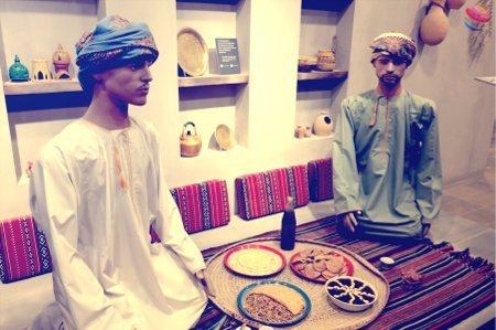 padigglione Oman sablah omanita