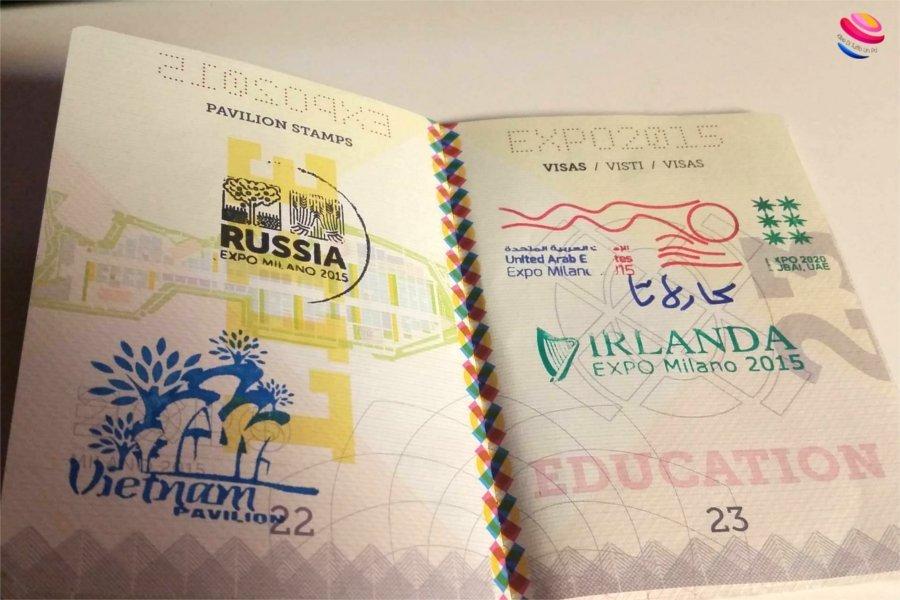 expo 2015 passaporto