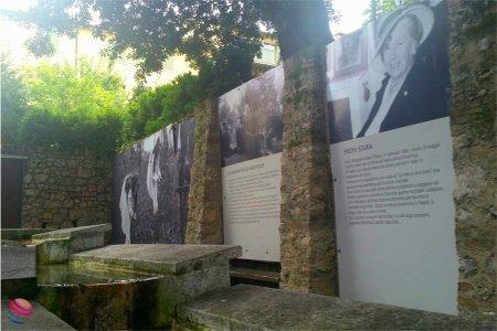 Asolo le mura del giardino di Freya Stark