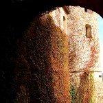 Castelli piacentini visitabili scorcio del Castello di Agazzano