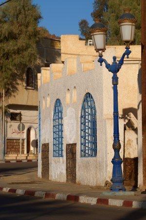Algeria Tadrart porte azzurre all'Oasi di Djanet
