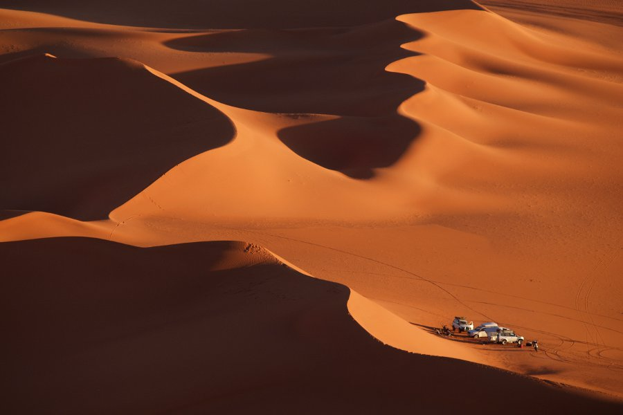 Algeria Tadrart campo fra le dune