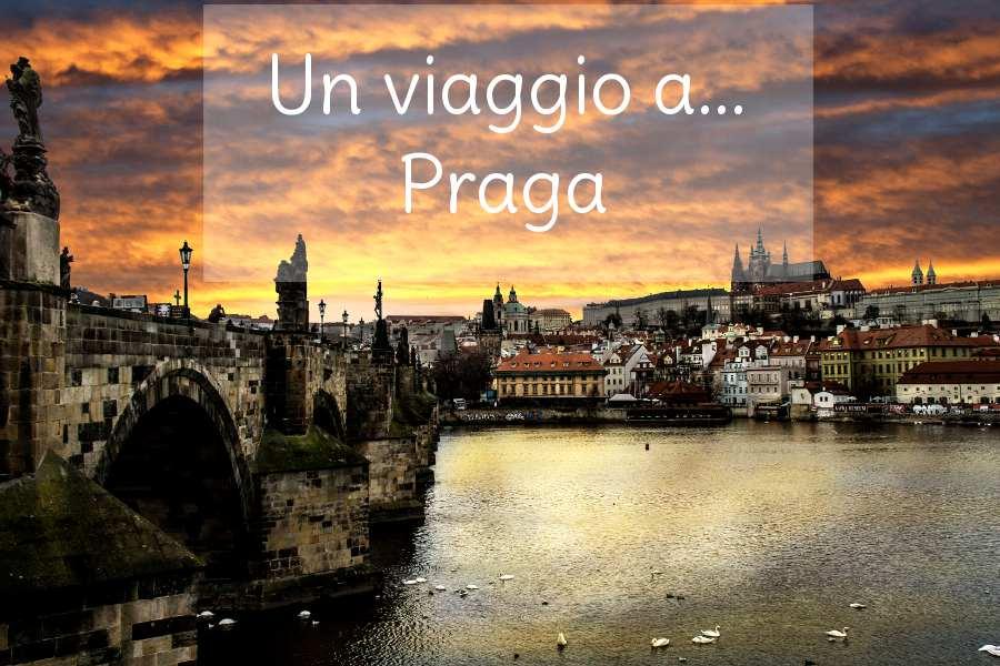 Un viaggio a Praga copertina