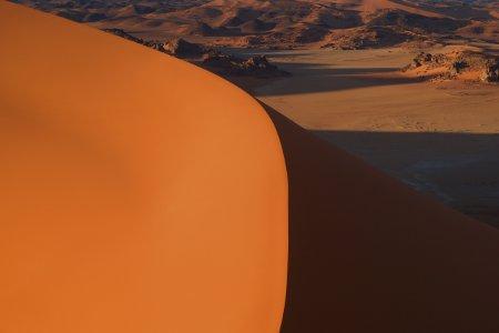 Algeria Tadrart dune