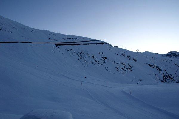Panorma da Zermatt trenino ferrovia gonergrat