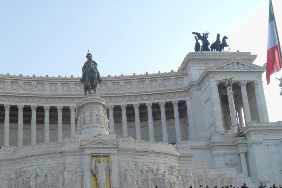 Campeggio roma Altare della Patria
