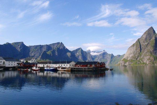 Norvegia in camper lofoten