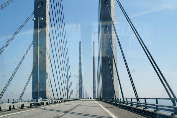Norvegia in camper ponte Oresund