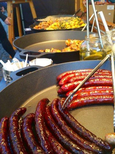 Cosa mangiare a Praga Salsicce