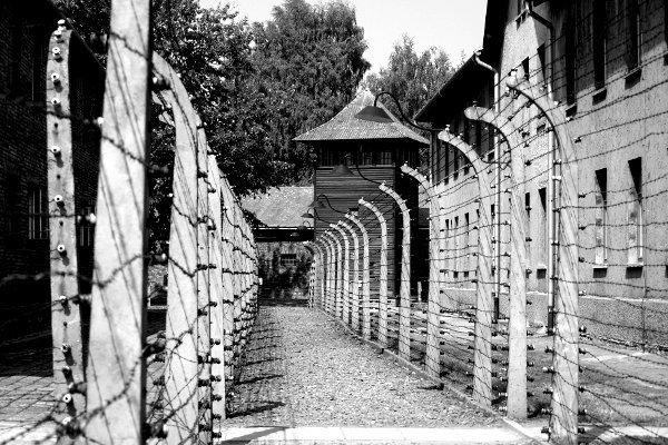 visitare Auschwitz passaggi di filo spinato