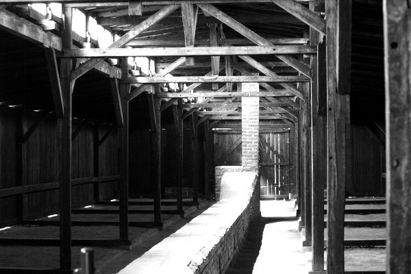 visitare Auschwitz interno baracche di Birkenau