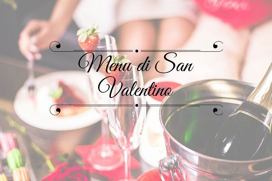 menu di san valentino
