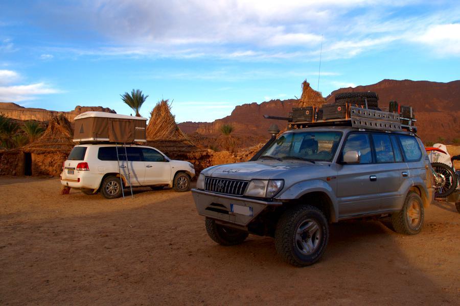 Algeria turismo campeggio maggiolina