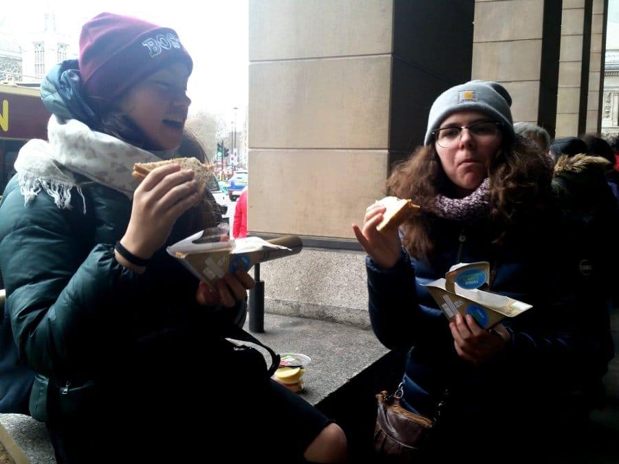 Pret A manger tramezzini di Tesco