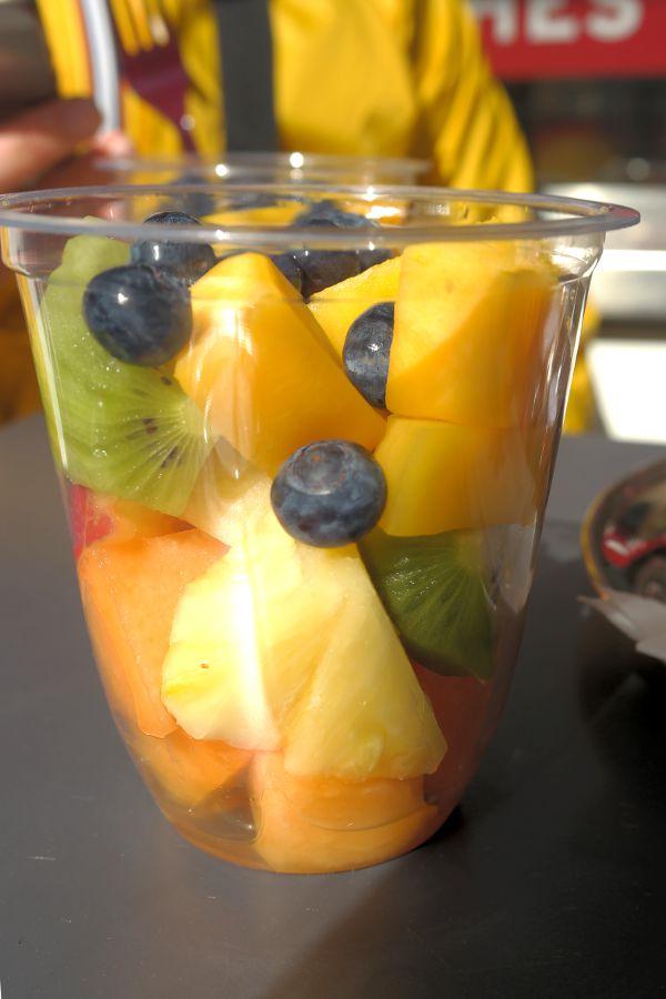 pret a Manger insalata di frutta