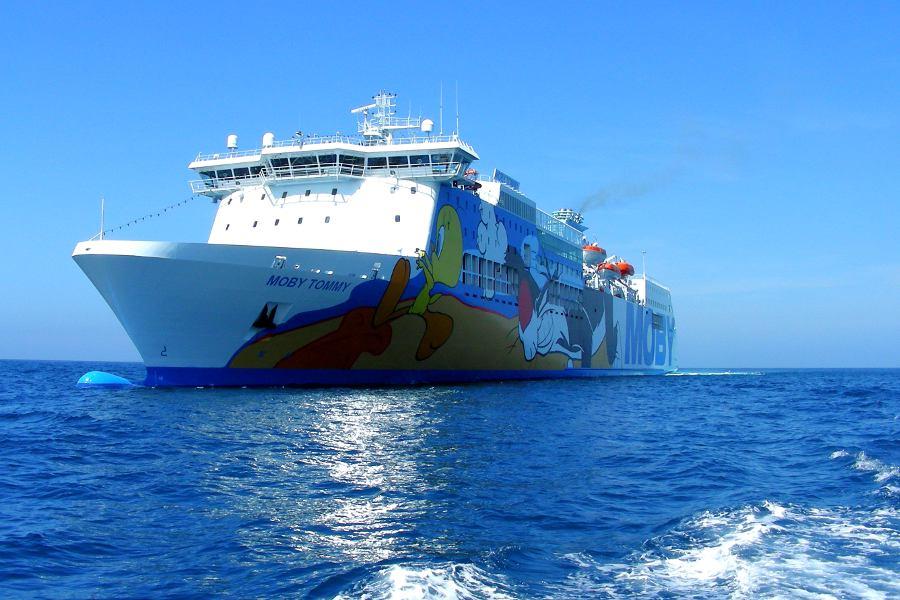 Sardegna in traghetto con Moby