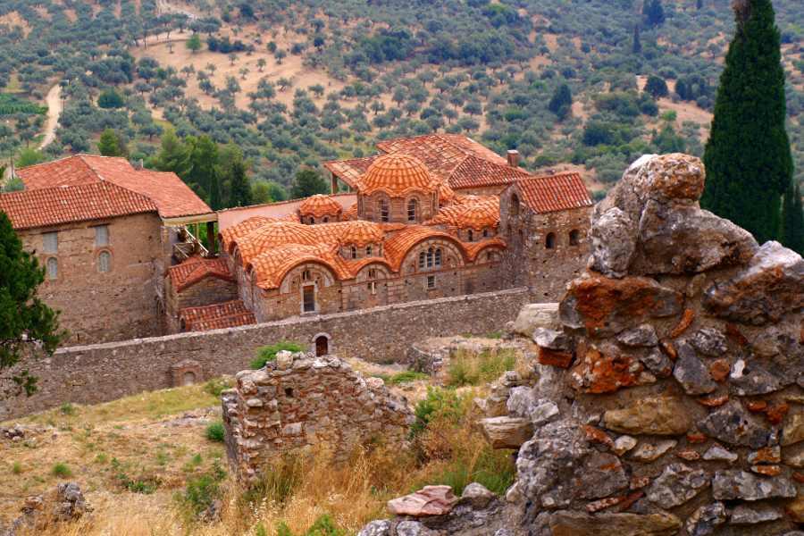 Peloponneso Mystras