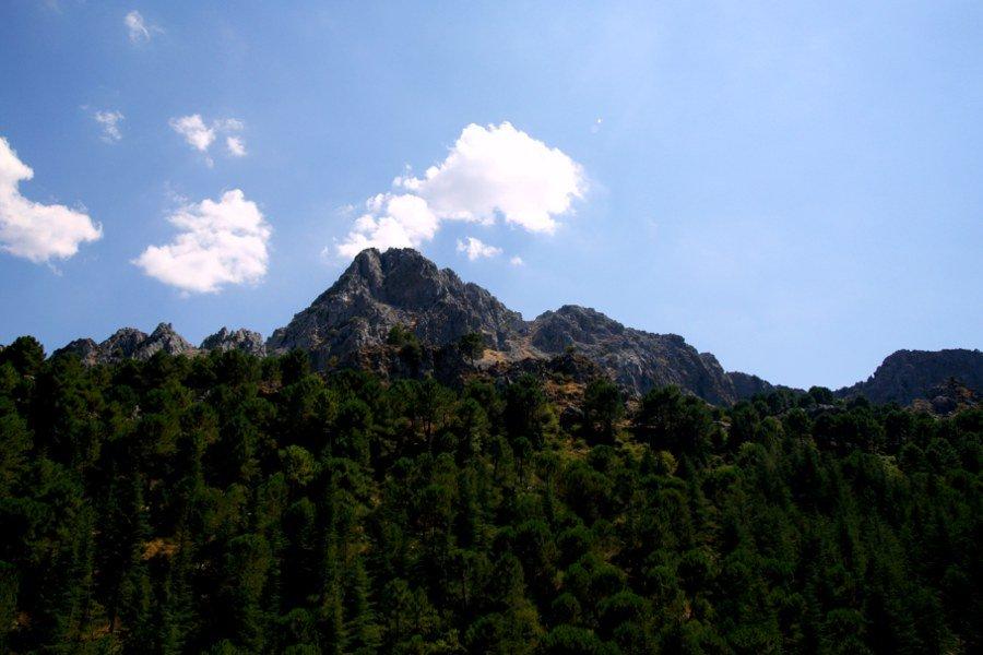 Pueblos blancos Le montagne di grazalema