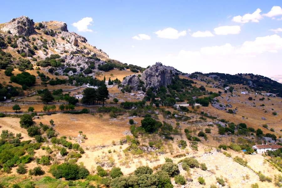 Pueblos Blancos e la sierra di Grazalema
