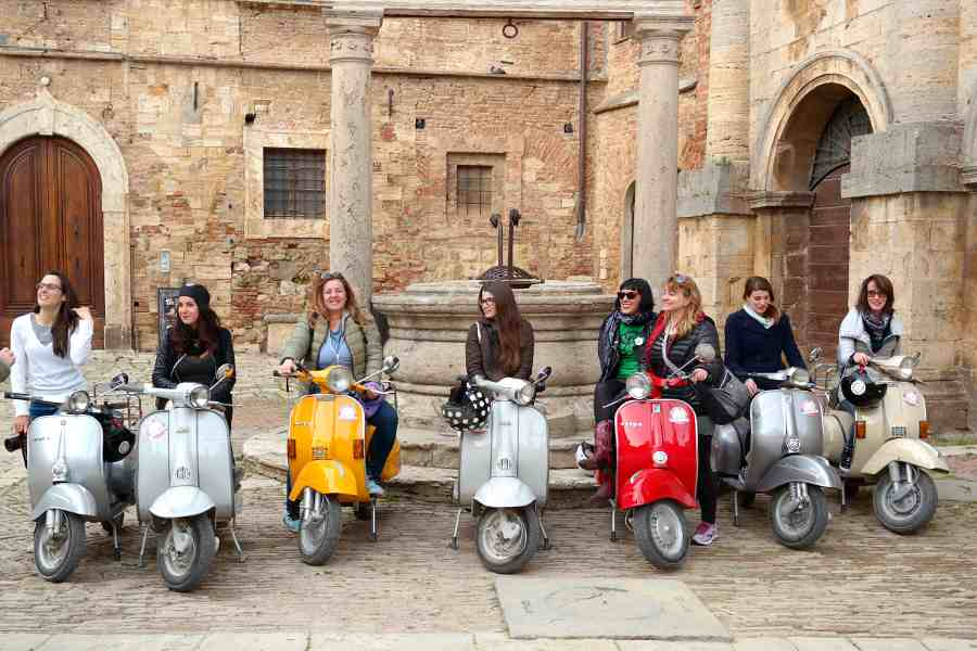 itinerari stradali in val d'orcia montepulciano