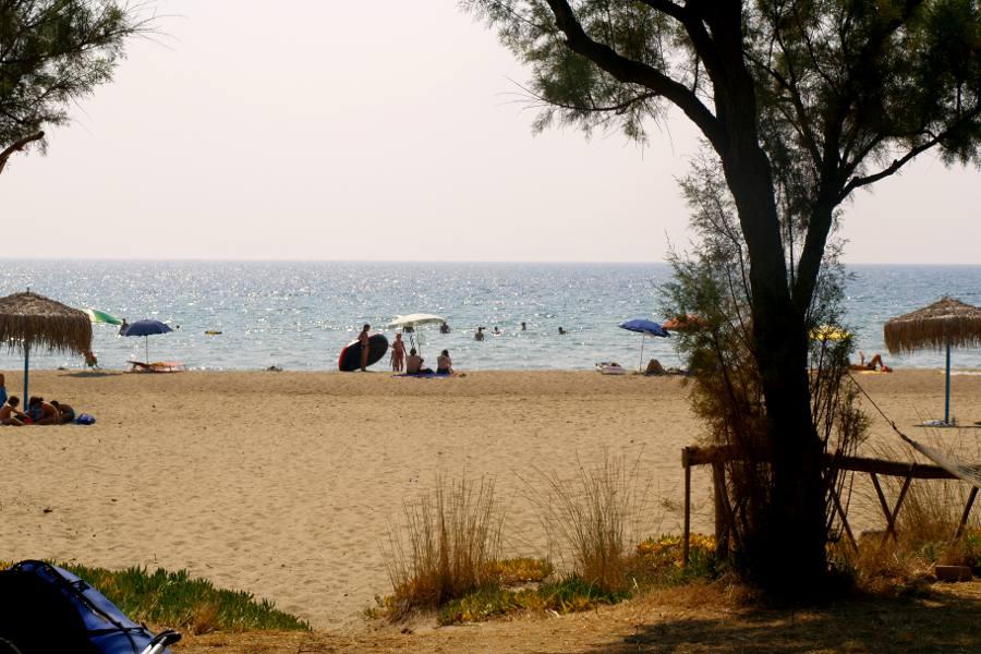 Peloponneso camping palouki