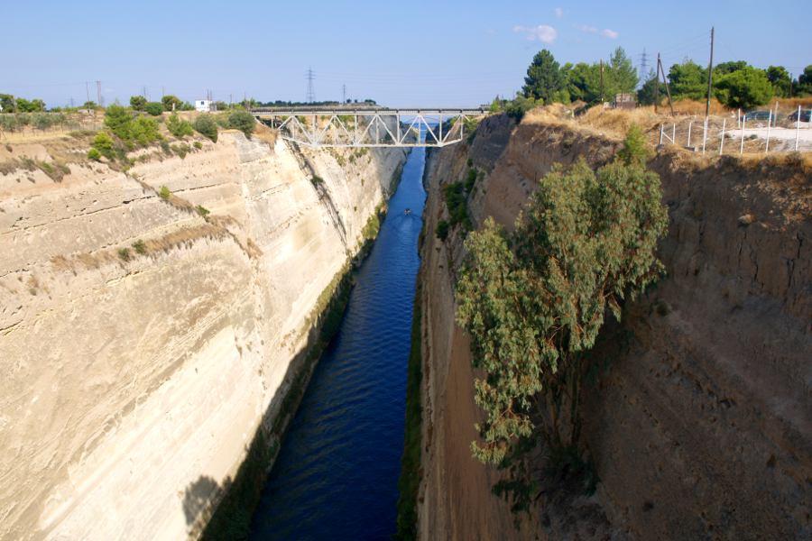 Peloponneso Stretto di Corinto