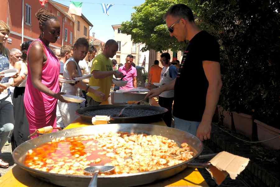 bagnara di romagna pranzo spagnolo