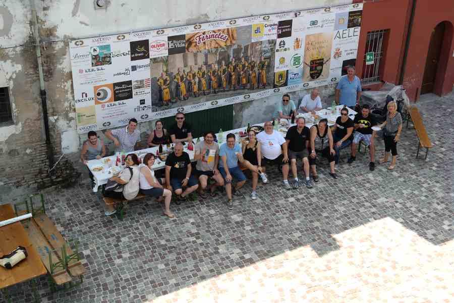 Bagnara di Romagna tavolata multiculturale