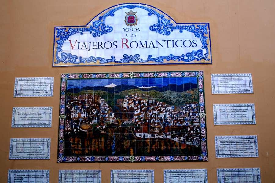 Ronda e il Romanticismo