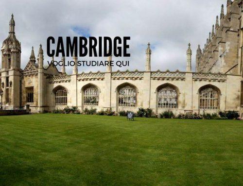 Cambridge: la città dei parchi e delle università.