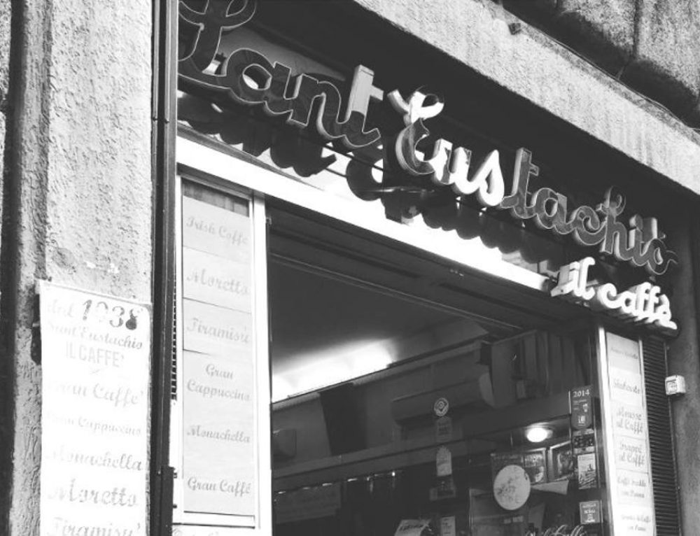 """Caffè stellato a Roma: lo storico """"Sant'Eustachio il Caffè"""""""
