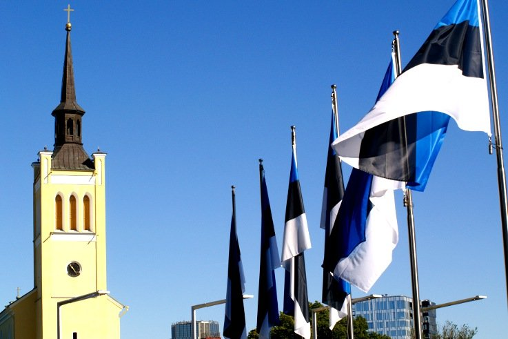 Tallinn piazza della Libertà