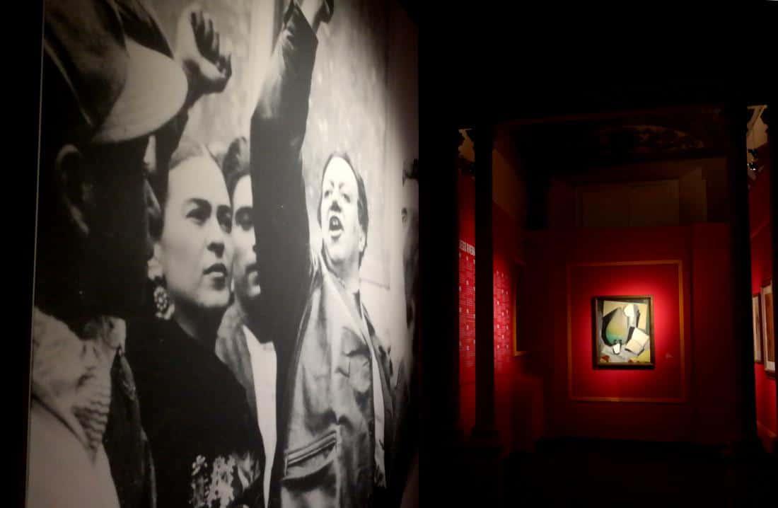 Frida Kahlo e Diego Rivera militanti comunisti
