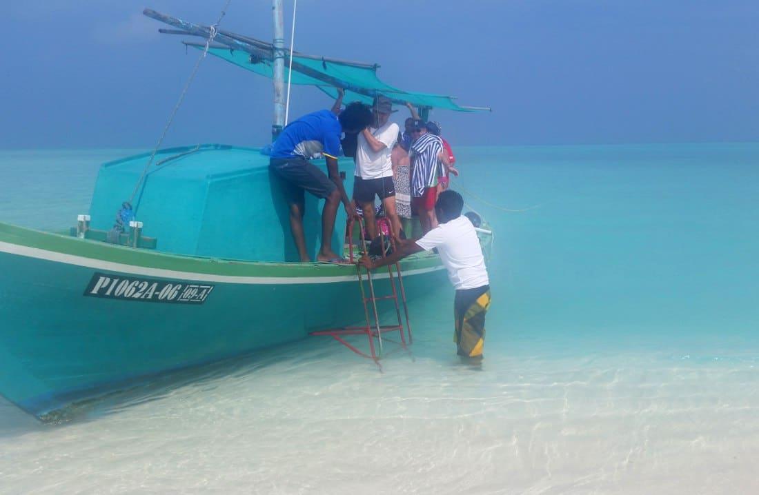 maldive lingua di sabbia