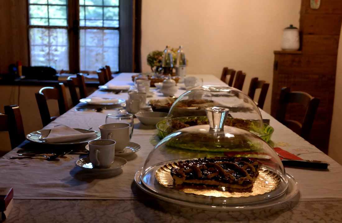 Castello malaspina di Gambaro la colazione