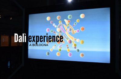 Dalì sala 3D della mostra a Bologna