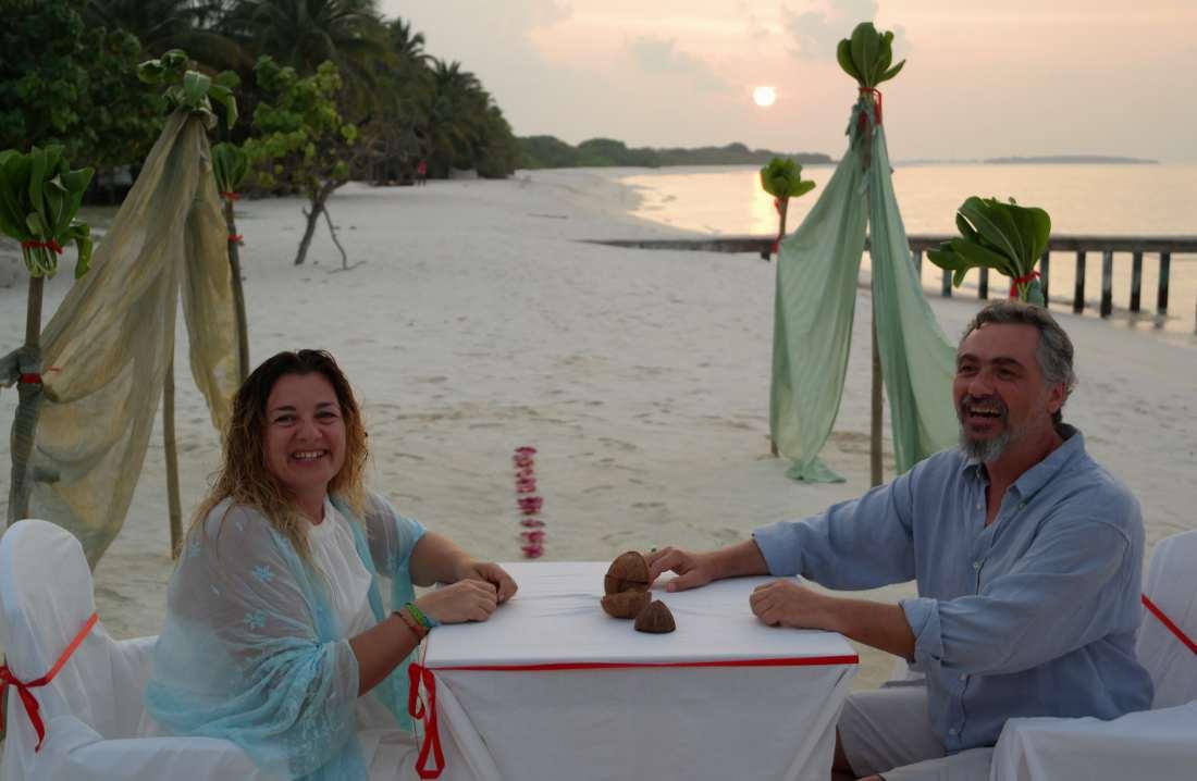 dove andare a San Valentino sposarsi alle maldive