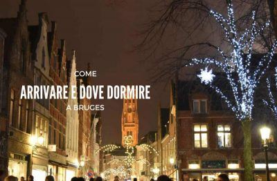 Come arrivare a Bruges, Belgio, fiandre