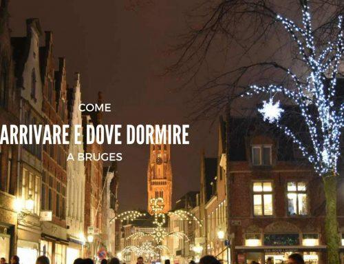 Come arrivare a Bruges e dove dormire