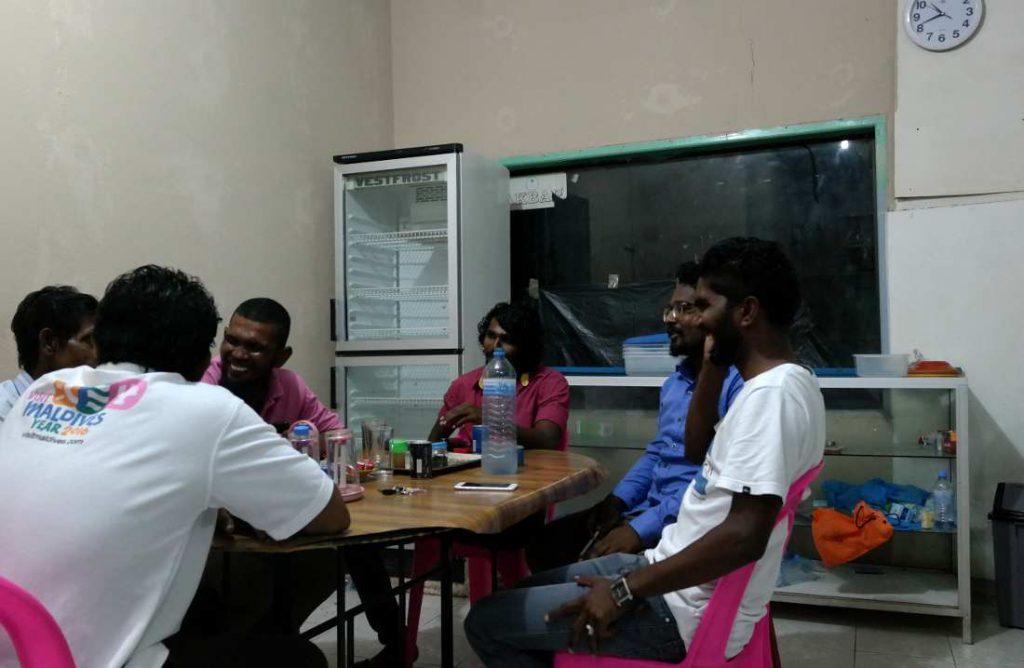 Bar alle isole Maldive