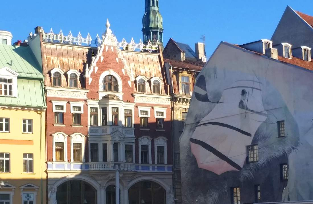 capitale lettonia architetture