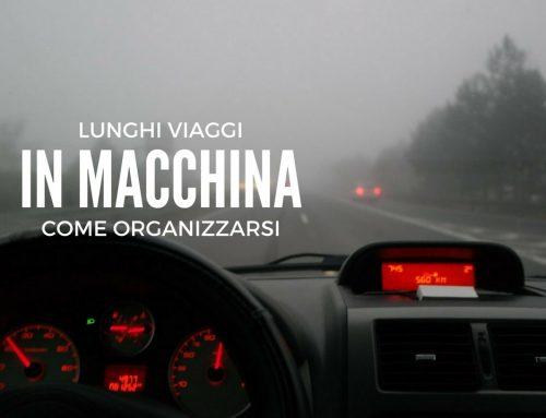 Viaggi in macchina: come organizzarsi per un lungo viaggio on the road