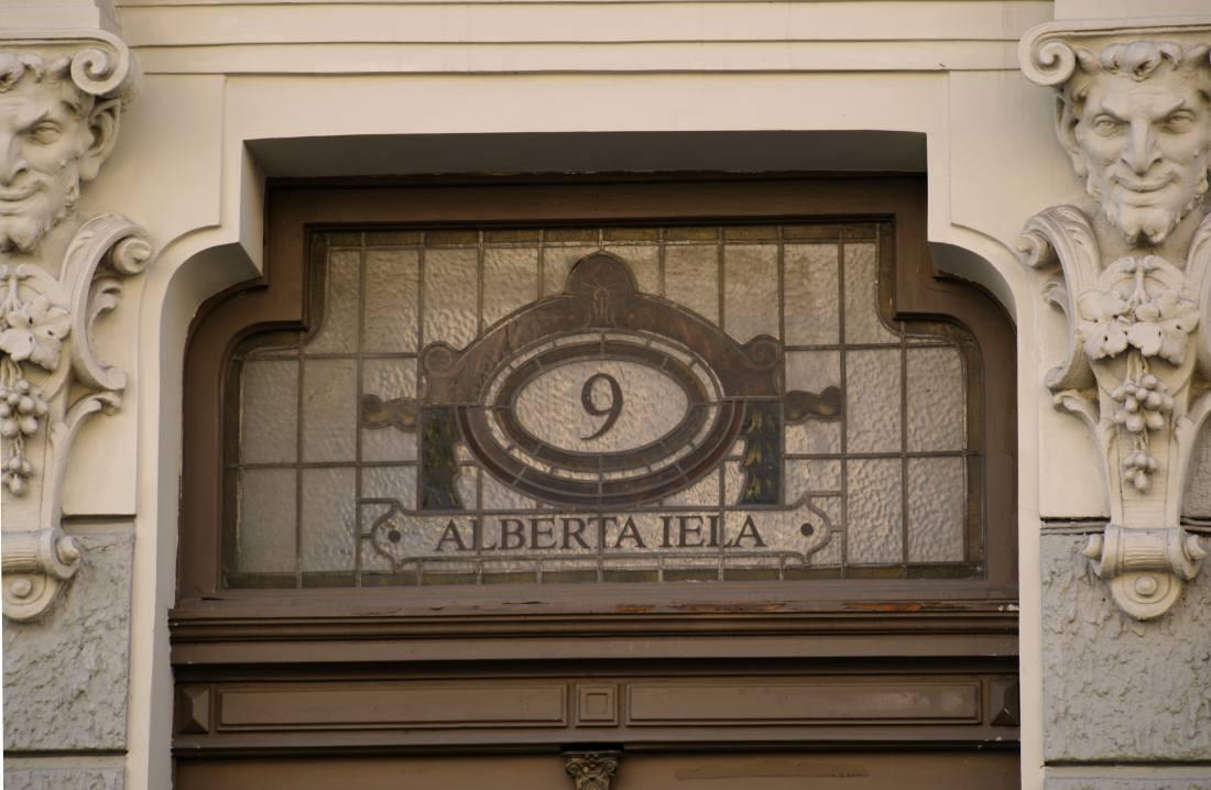 capitale lettonia art nouveau