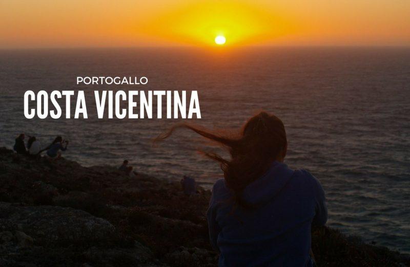 Costa vicentina tramonto a Cabo Sao Vicente
