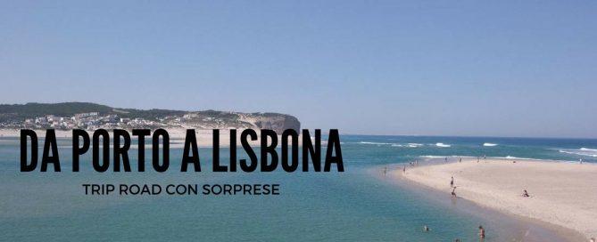 Lisbona porto trip road
