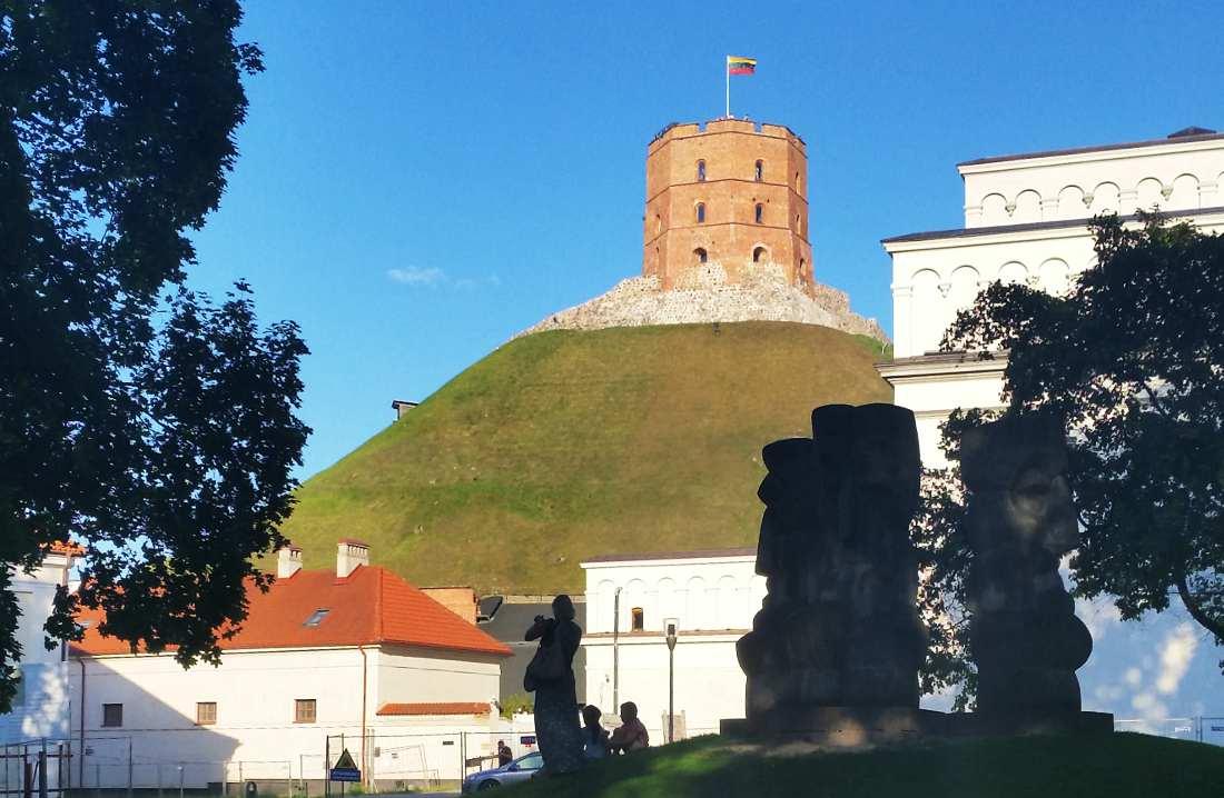 Vilnius cosa vedere: la collina di Gedeminas