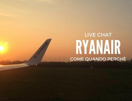 Chat Ryanair è facile e gratis: usala!