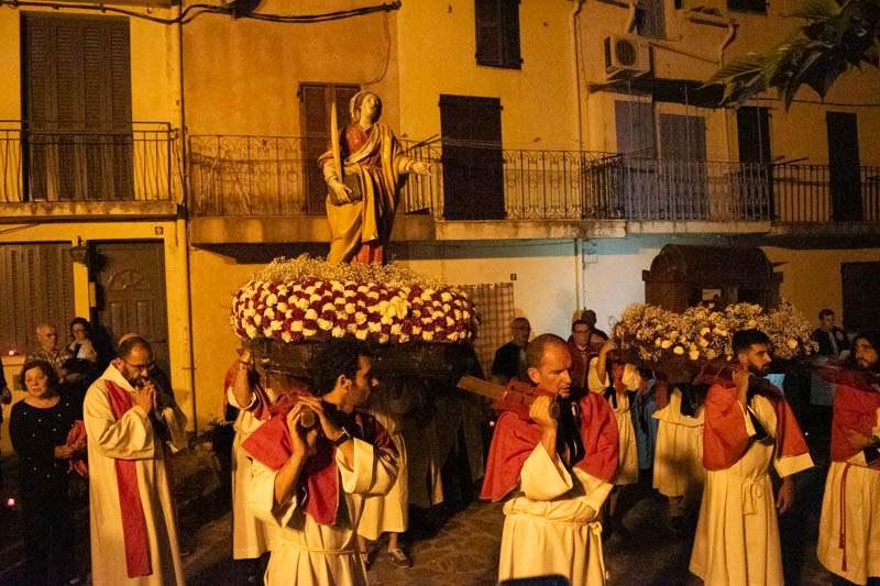Balagne la processione di Calenzana